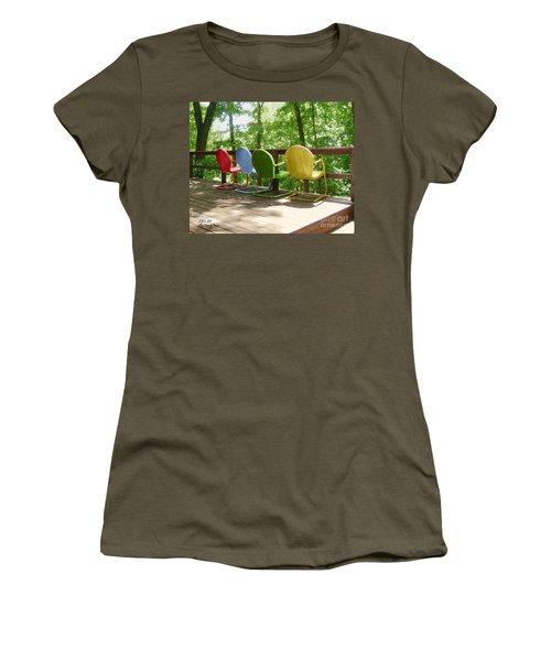 Let's Sit Women's T-Shirt
