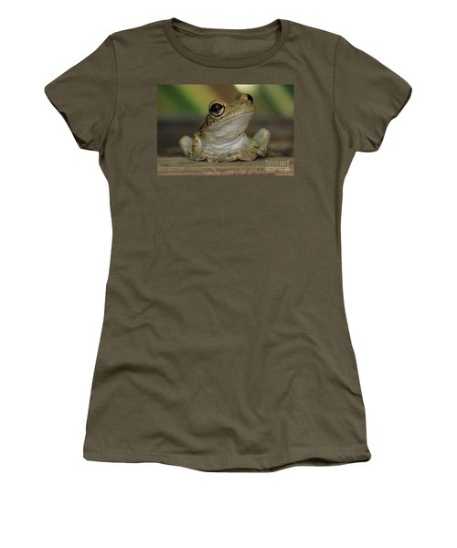 Let's Talk - Cuban Treefrog Women's T-Shirt