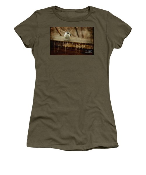 Life Can Be Tough Women's T-Shirt (Athletic Fit)