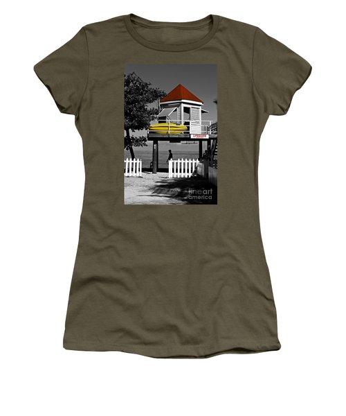 Life Guard Station Women's T-Shirt