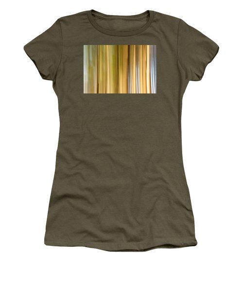 Women's T-Shirt (Junior Cut) featuring the photograph Light And Snow by Davorin Mance