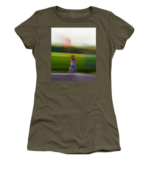 Women's T-Shirt (Junior Cut) featuring the photograph Lighter Than Air by Alex Lapidus