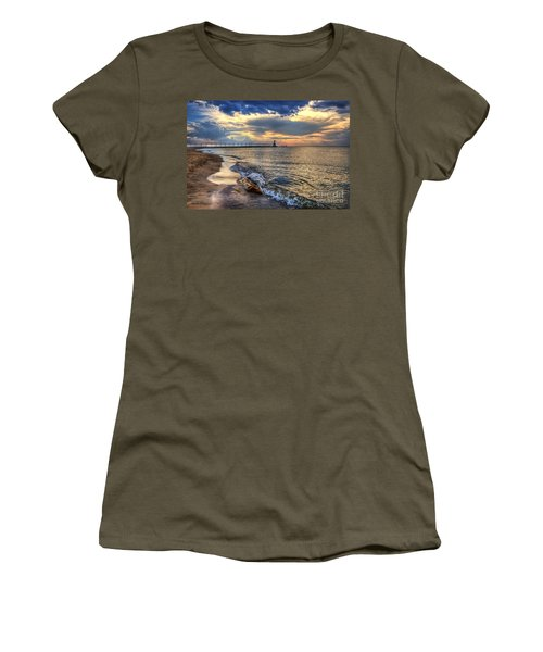 Lighthouse Drama Women's T-Shirt (Athletic Fit)