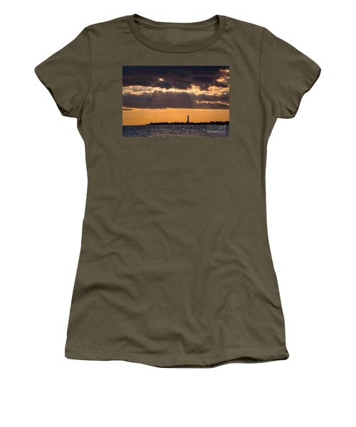 Lighthouse Sun Rays Women's T-Shirt