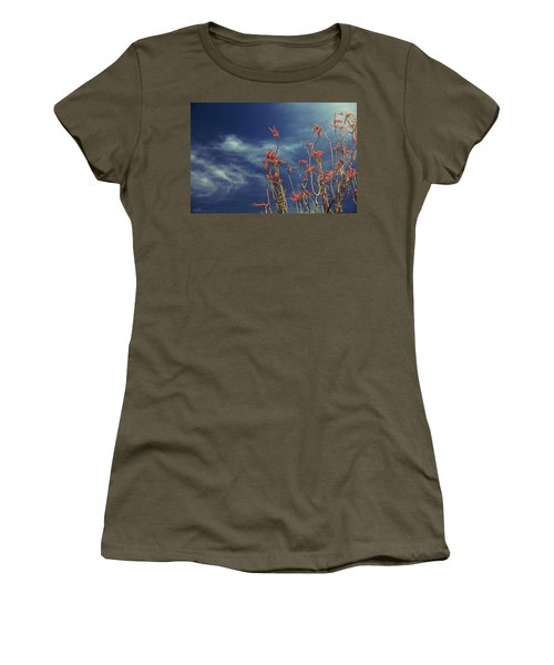 Like Flying Amongst The Clouds Women's T-Shirt (Athletic Fit)
