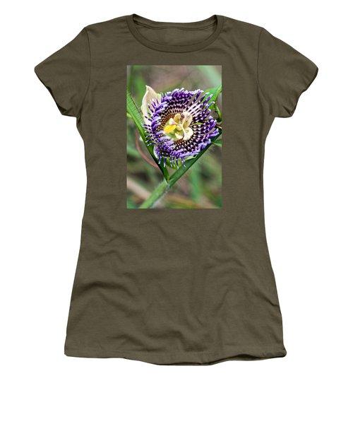 Women's T-Shirt featuring the photograph Lilikoi Flower by Dan McManus