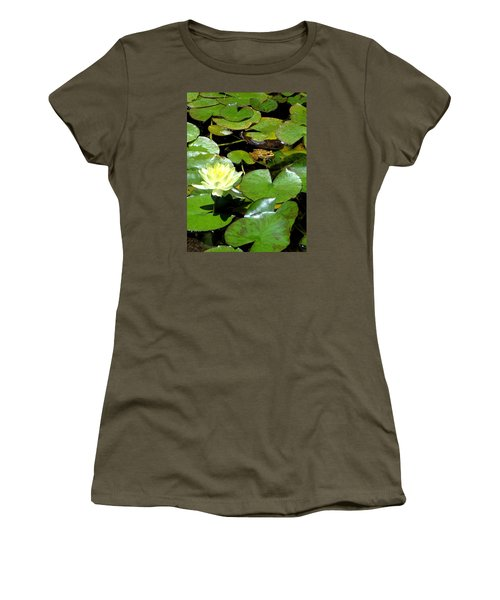 Lily And Amphibian Friend Women's T-Shirt (Athletic Fit)