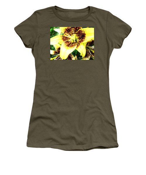 Women's T-Shirt (Junior Cut) featuring the photograph Lily Love by Shana Rowe Jackson