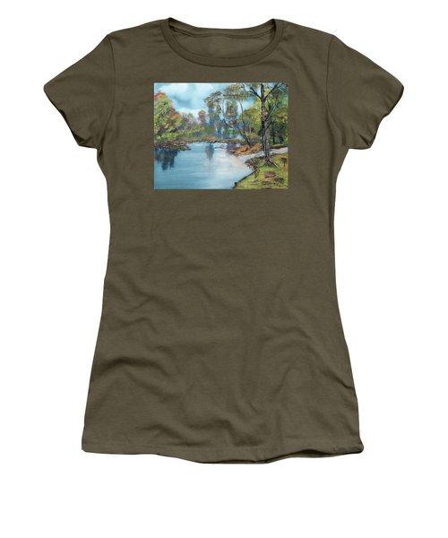 Little Brook Women's T-Shirt (Athletic Fit)