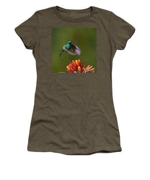 Little Hedgehopper Women's T-Shirt (Junior Cut) by Heiko Koehrer-Wagner