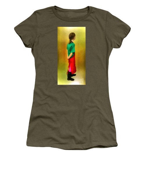 Little Shopgirl Women's T-Shirt (Junior Cut) by RC deWinter