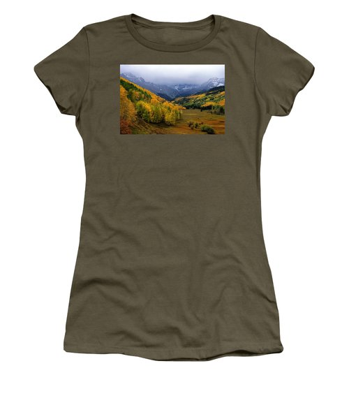 Little Meadow Of The Sublime Women's T-Shirt (Junior Cut) by Eric Glaser