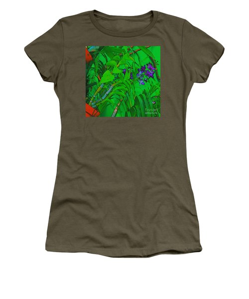 Living Wall Art Women's T-Shirt (Athletic Fit)