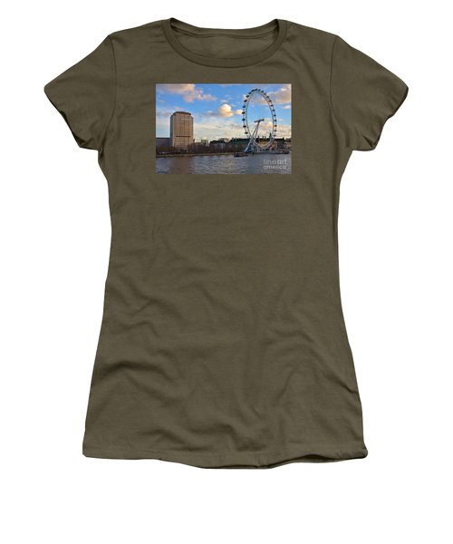 London Eye And Shell Building Women's T-Shirt