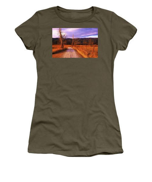Lonely Road Women's T-Shirt