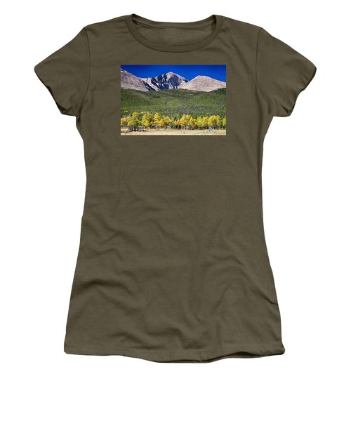 Longs Peak A Colorado Playground Women's T-Shirt