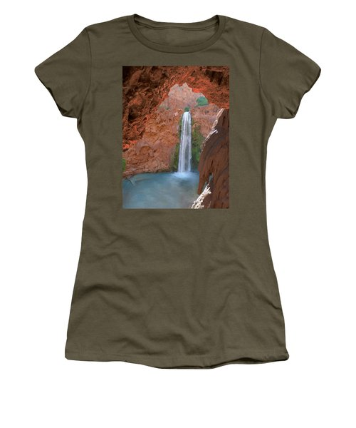 Looking Out From The Cave Women's T-Shirt (Athletic Fit)