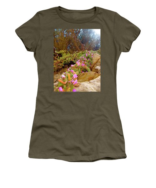 Looking Up Women's T-Shirt (Junior Cut) by CML Brown