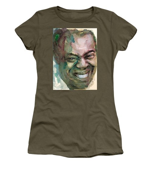 Louis Armstrong Women's T-Shirt (Athletic Fit)