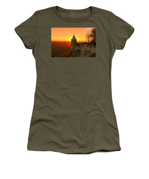 Low Sun On The Fortress Koenigstein Women's T-Shirt