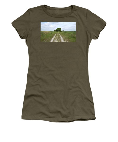 Loxahatchee Wildlife Refuge Women's T-Shirt (Athletic Fit)