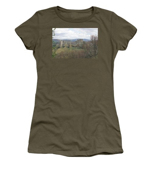 Ludlow Castle Women's T-Shirt (Athletic Fit)