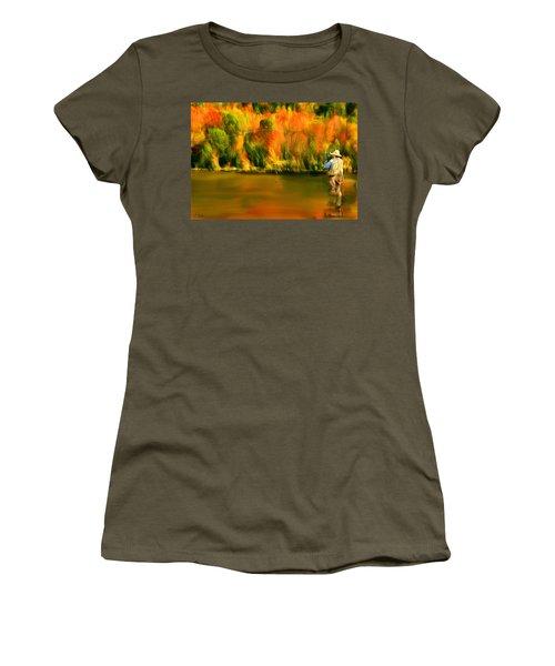Lure Of Fly Fishing Women's T-Shirt