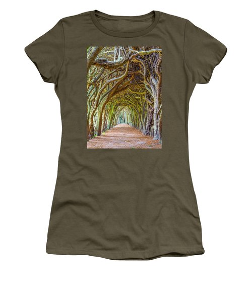 Magic Yew Women's T-Shirt (Athletic Fit)