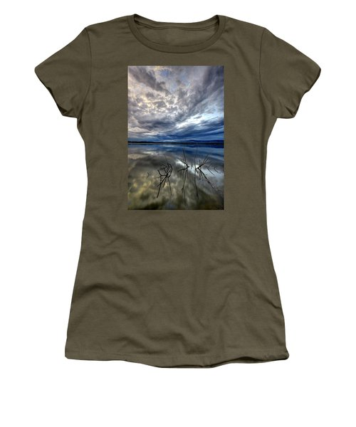 Magical Lake - Vertical Women's T-Shirt
