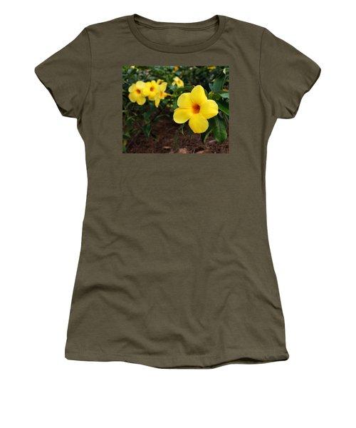 Mandevilla Women's T-Shirt (Athletic Fit)