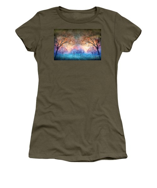 Many Moons Women's T-Shirt (Athletic Fit)