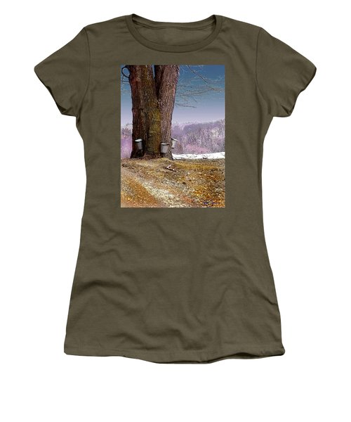 Maple Buckets Women's T-Shirt