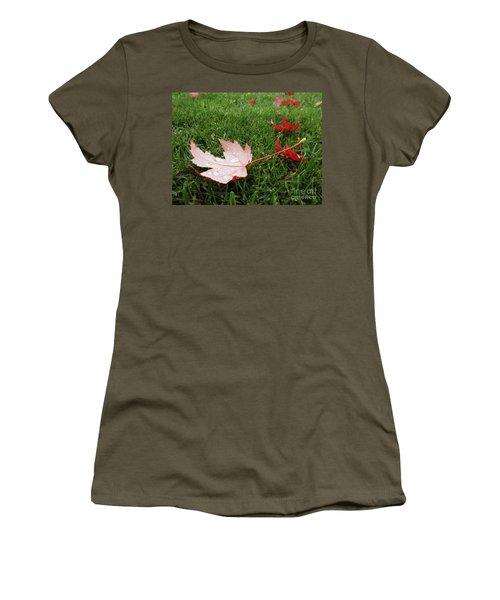 Maple Leaf In Canada Women's T-Shirt