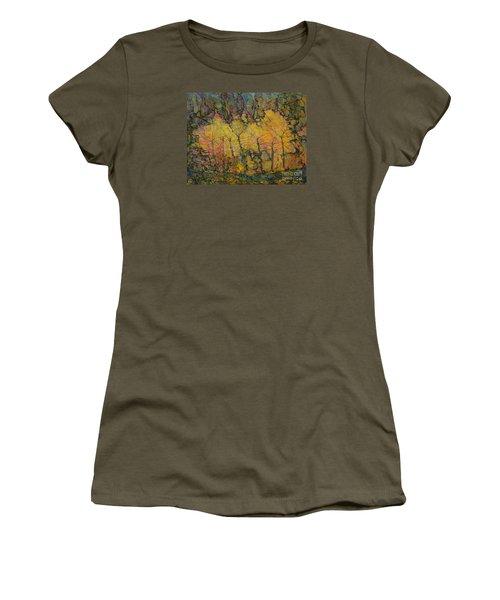 Maples Women's T-Shirt (Junior Cut) by Anna Yurasovsky