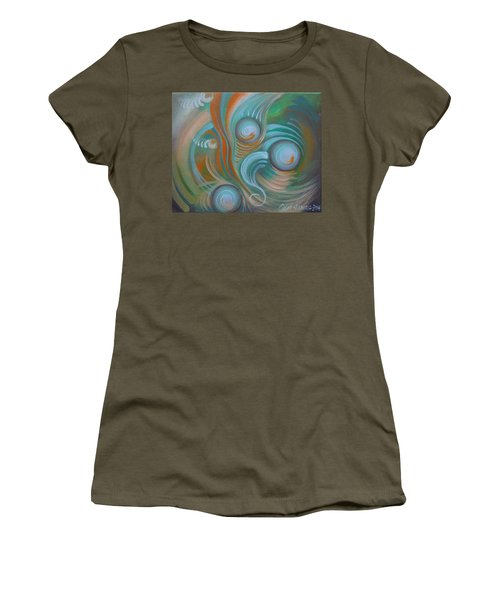 Marble Madness Women's T-Shirt