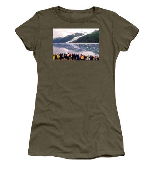 Margerie Glacier, West Arm, Glacier Women's T-Shirt