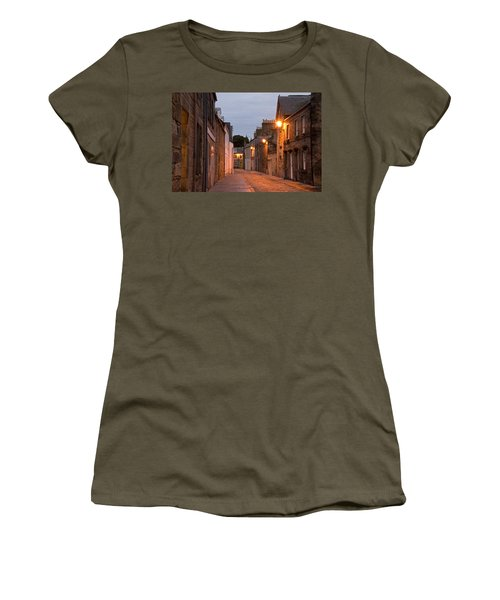 Market Street At Dusk Women's T-Shirt (Junior Cut) by Jeremy Voisey