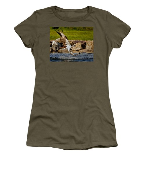 Master Fisherman Women's T-Shirt (Athletic Fit)