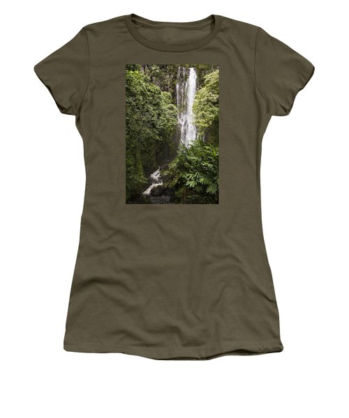 Maui Waterfall Women's T-Shirt (Athletic Fit)