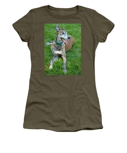 Women's T-Shirt (Junior Cut) featuring the photograph Maverick by Lisa Phillips