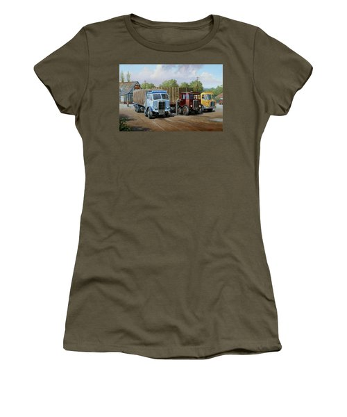 Max's Transport Cafe Women's T-Shirt (Athletic Fit)