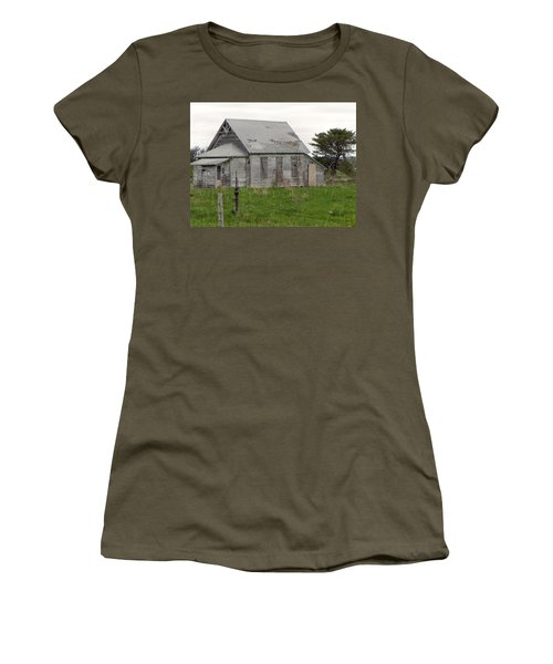 Women's T-Shirt (Junior Cut) featuring the photograph Memories by Deb Halloran
