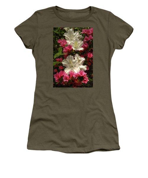 Merging Azaleas  Women's T-Shirt