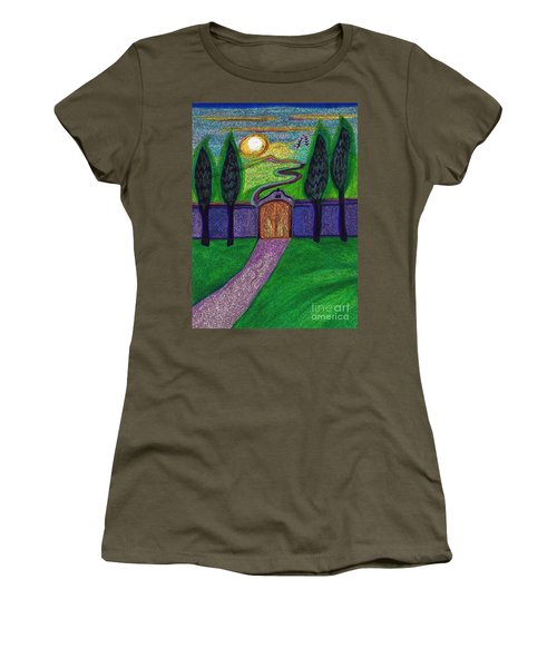 Metaphor Door By Jrr Women's T-Shirt (Athletic Fit)