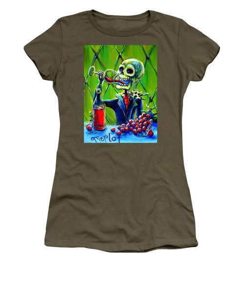Mi Merlot Women's T-Shirt (Athletic Fit)