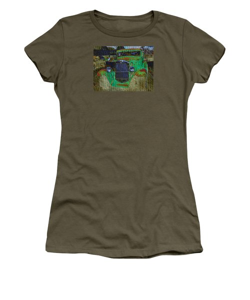 Women's T-Shirt (Junior Cut) featuring the photograph Michigan Coupe by MJ Olsen