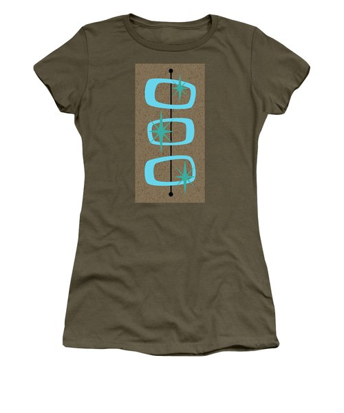 Mid Century Modern Shapes 1 Women's T-Shirt (Athletic Fit)