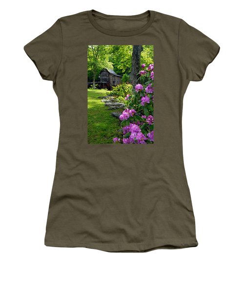 Mill And Rhododendrons Women's T-Shirt