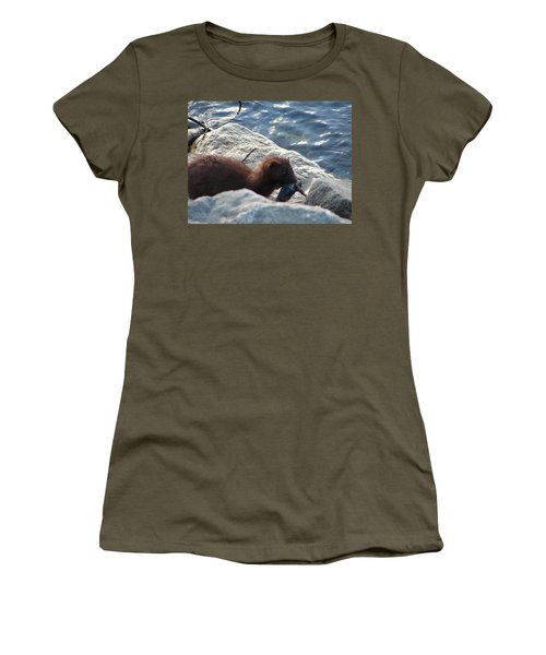 Mink With A Round Goby Women's T-Shirt
