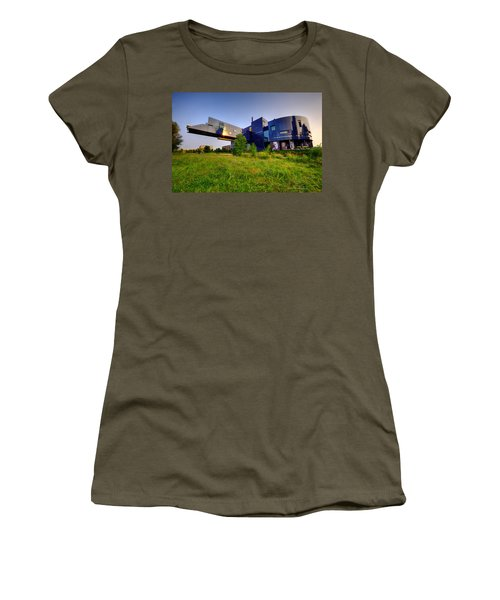 Minneapolis Guthrie Theater Summer Evening Women's T-Shirt (Athletic Fit)